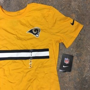 8704ad631 Nike Shirts - Los Angeles Rams Nike Stripe Color Pack T-Shirt